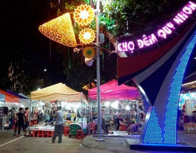 Chợ đêm Quy Nhơn